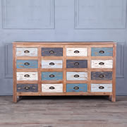 Sixteen drawer dresser