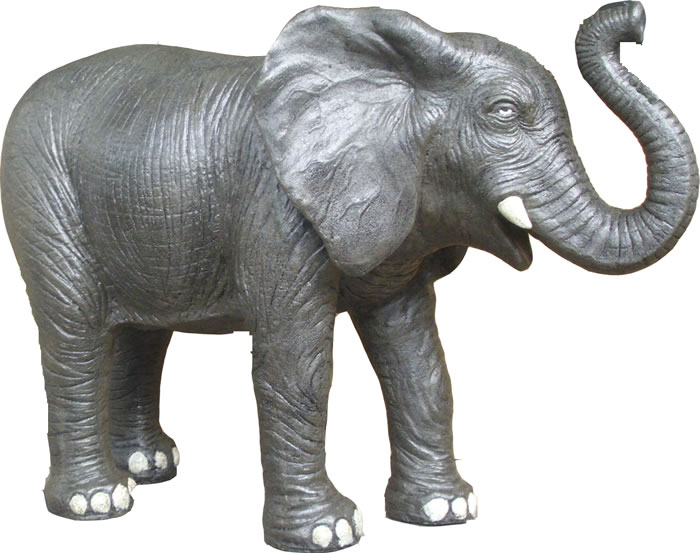 M size elephant statue,Animal Statues
