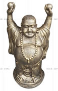 Happy buddha with hands up