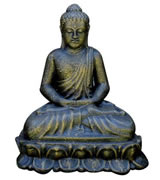 Buddha statue on a stand