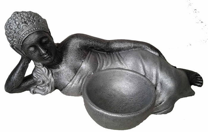 Sleeping gilr with a bowl,Buddha Statues