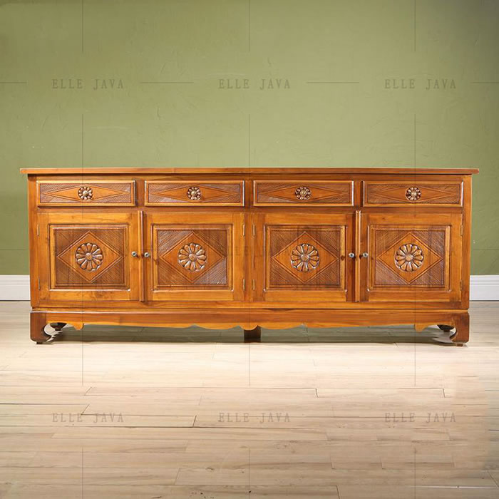 Sideboard 4 doors 4 drawers,Teak Furniture