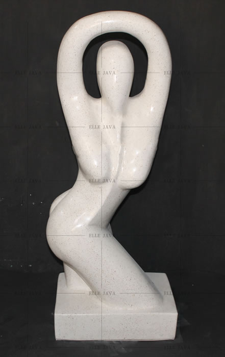 Dancing woman,Abstract Statues