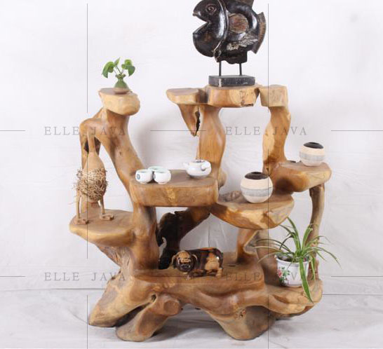Teak root display stand,Teak Furniture