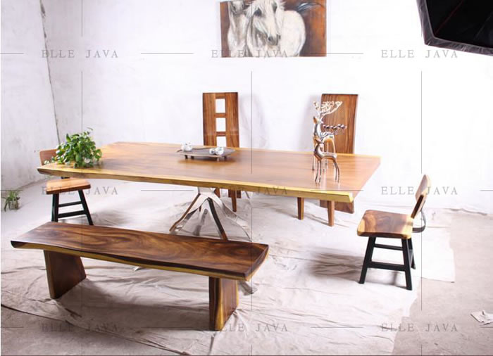 Table and chair setting,Teak Furniture