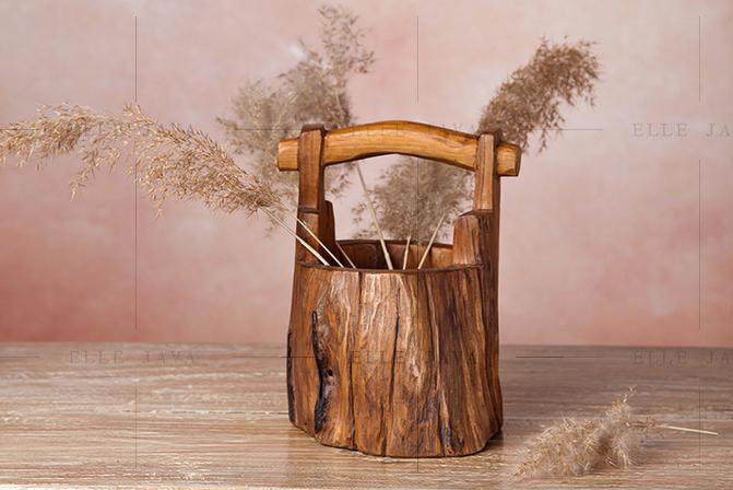 Teak Bucket large,Teak Furniture