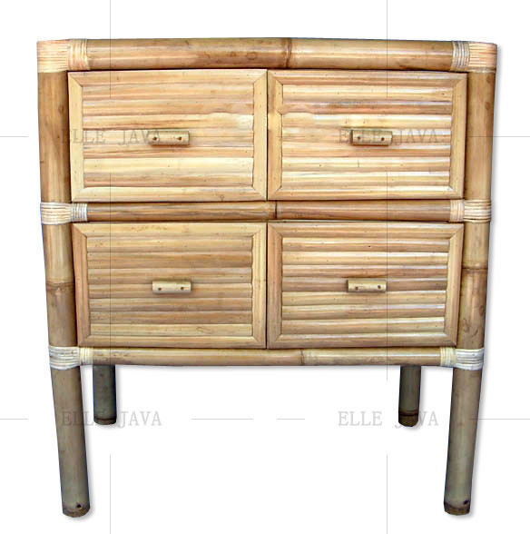 Four drawer dresser,Bamboo Furniture