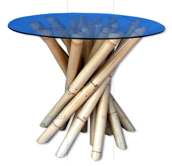 Round table,Bamboo Furniture