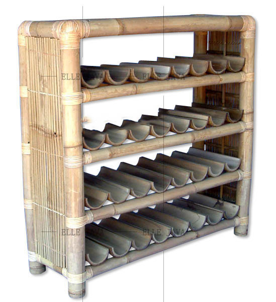 Wine cabinet,Bamboo Furniture