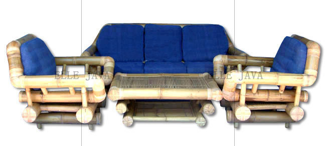 Four piece lounge setting,Bamboo Furniture
